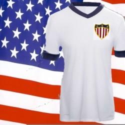 Camisa retrô Estados Unidos tradicional