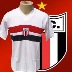 Camisa retrô Botafogo de Ribeirao década de 80