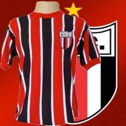 Camisa retrô Botafogo de Ribeirao Preto tricolor- 1970