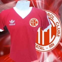 Camisa retrô América de Natal - 1977