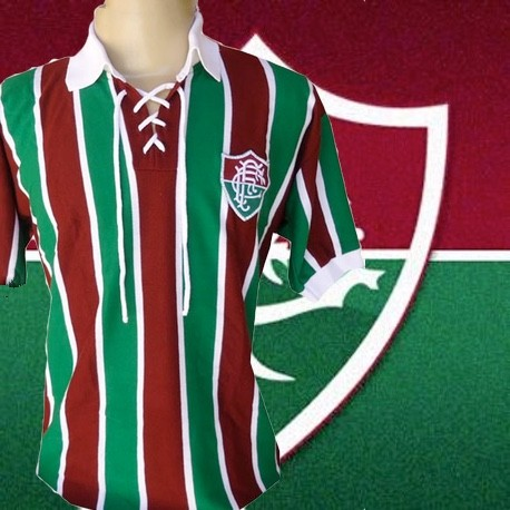 Camisa retrô Fluminense estlile retrô