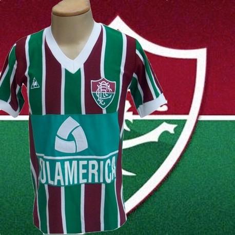 Camisa retrô Fluminense 1984- 1985 Sul America a874762f48b97