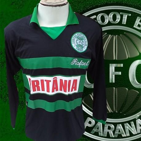 Camisa retrô Coritiba Brîtania - 1985