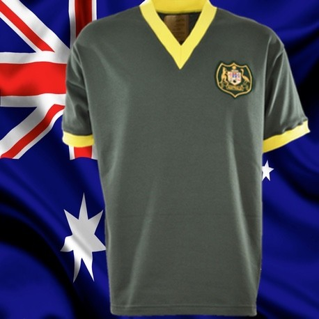 Camisa retrô Australiana verde oliva