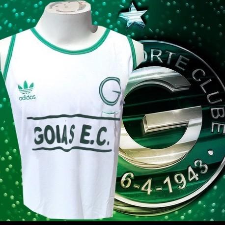 Camisa retrô Goiás verde - 1980 Finta