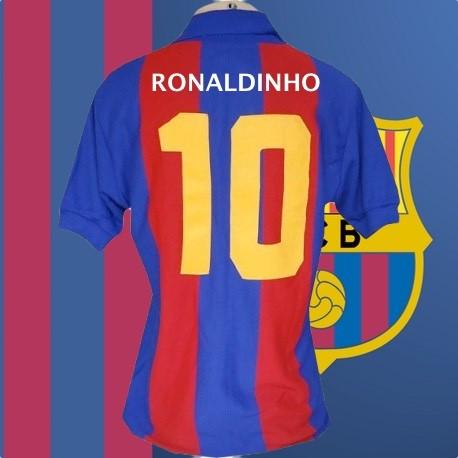 Camisa Retrô Barcelona 1980 - ESP