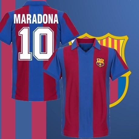 Camisa Retrô Barcelona Maradona - ESP