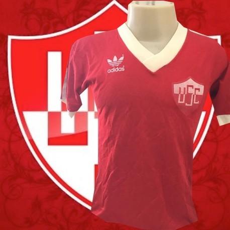 Camisa Retrô Uberaba fc década de 80.