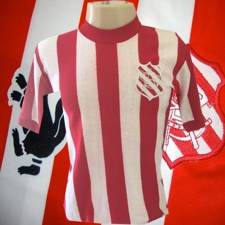 Camisa retrô Bangu logo listrada- 1980