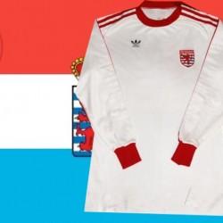Camisa Retrô Luxemburgo 1980 - LUX