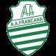 Camisa retrô AA Francana verde 1980