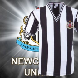 Camisa retrô Newcastle - ENG